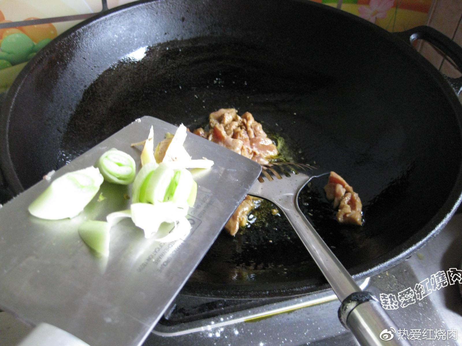 猪肉炒扁豆