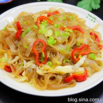 粤菜-香辣炒红薯粉