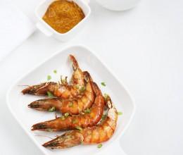 空气炸锅食谱-咖喱烤虾