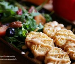 色拉薯饼活力营养早餐