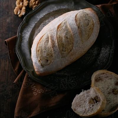 法式核桃面包