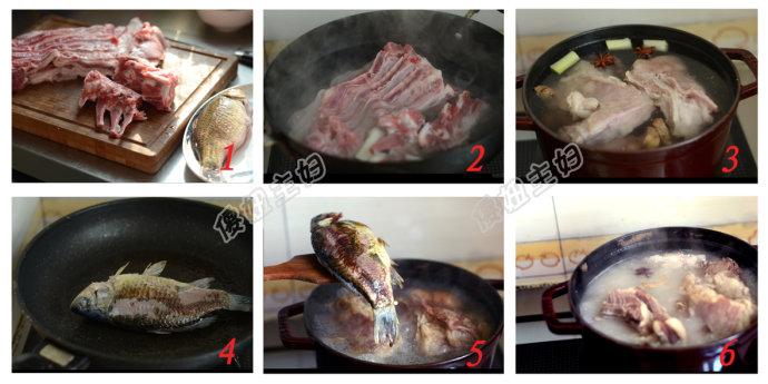 羊肉汤、发面烧饼