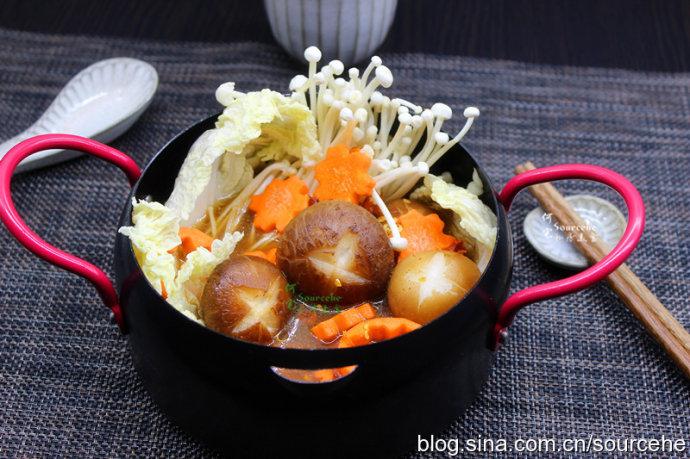 麻辣素菜锅