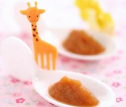 6个月宝宝辅食-胡萝卜娃娃菜苹果泥