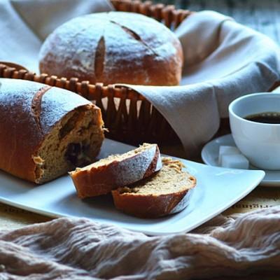 大枣芝士蔓越莓软欧面包