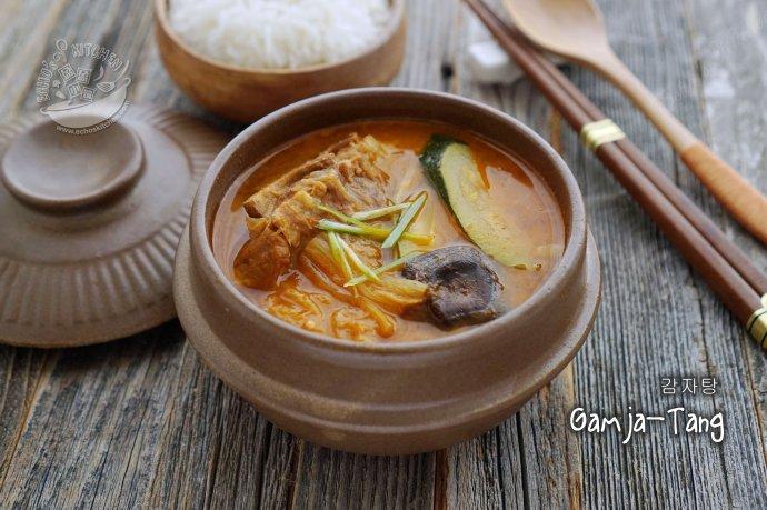 韩式土豆骨头汤