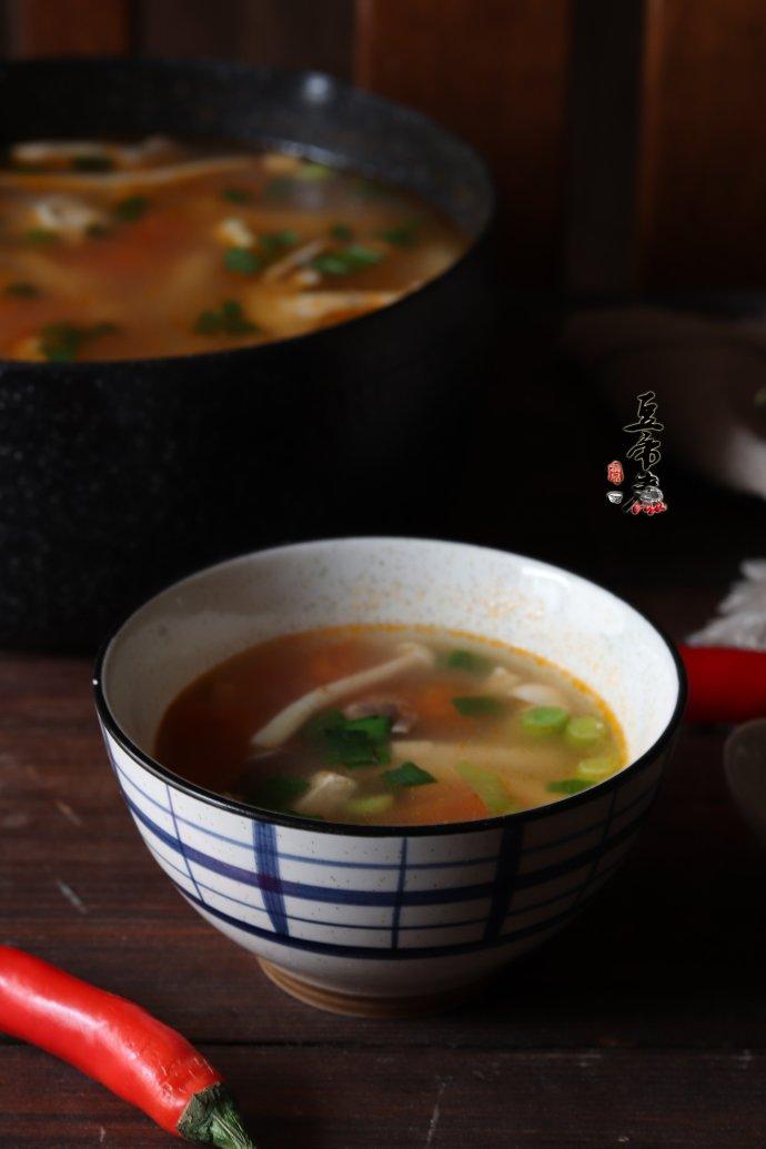 冬季营养蔬菜汤