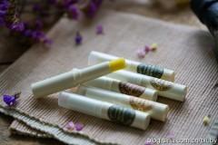 自制橄榄油润唇膏