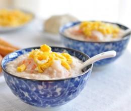 营养早餐-虾仁鸡蛋燕麦粥