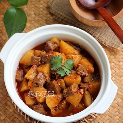 川味土豆炖牛肉