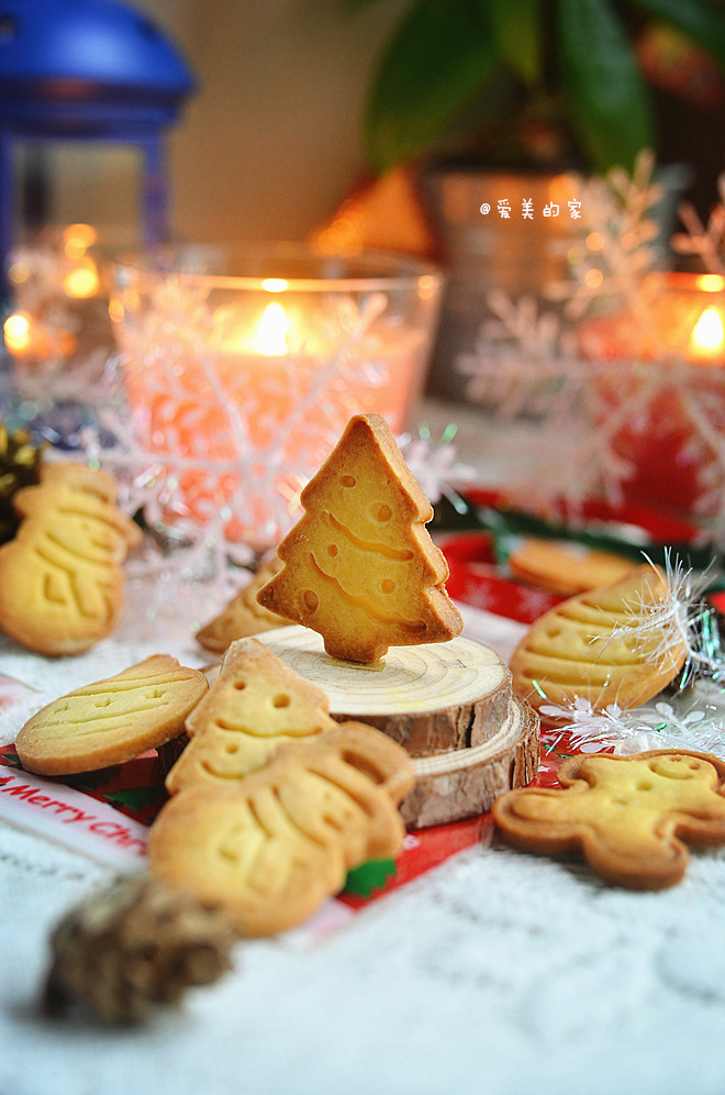 圣诞卡通饼干