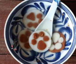 桂花熊掌汤圆