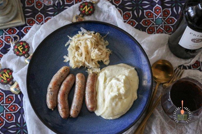 德国圣诞节这么过-土豆沙拉配香肠