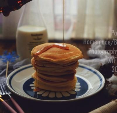 10分鐘營養早餐-楓糖松餅
