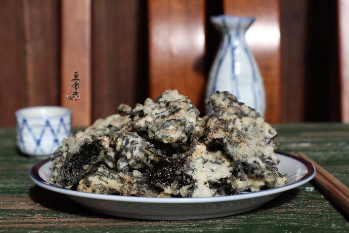 椒盐紫菜酥-补充维生素和氨基酸
