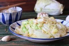虾皮煸白菜