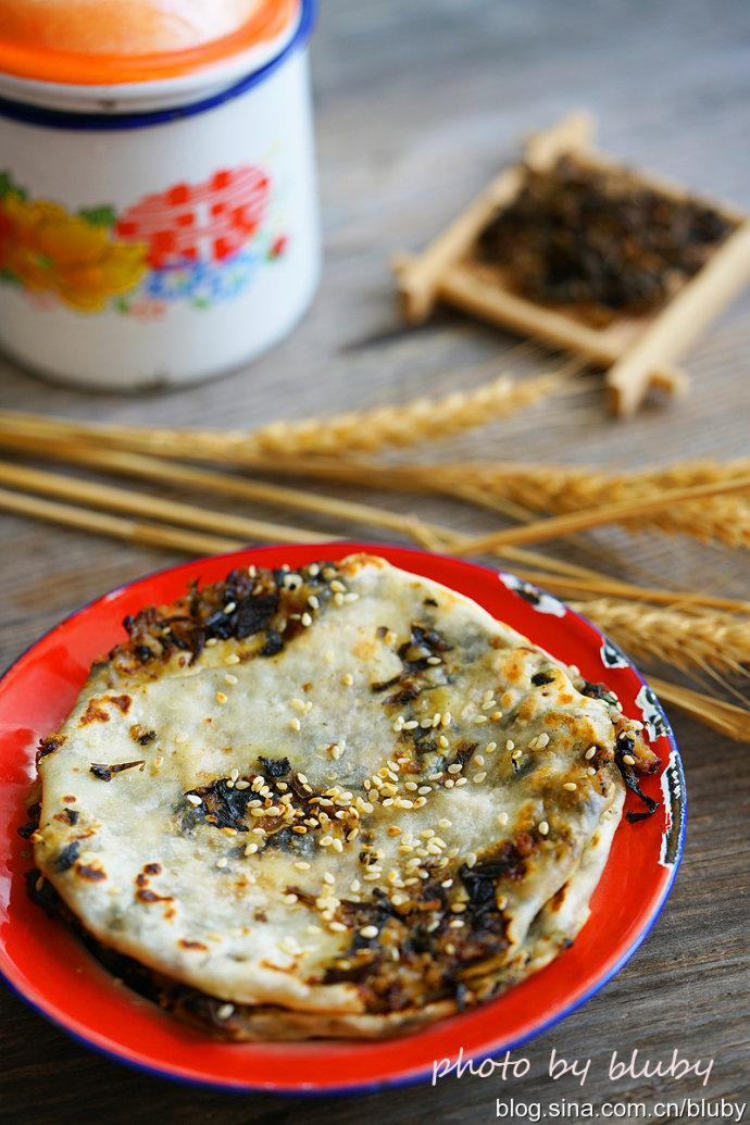 梅干菜肉烧饼