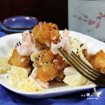 茶餐廳的招牌菜--菠蘿油條蝦