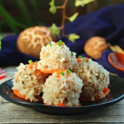 冬菇珍珠肉丸子