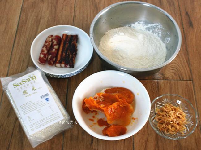 南瓜腊味糯米卷