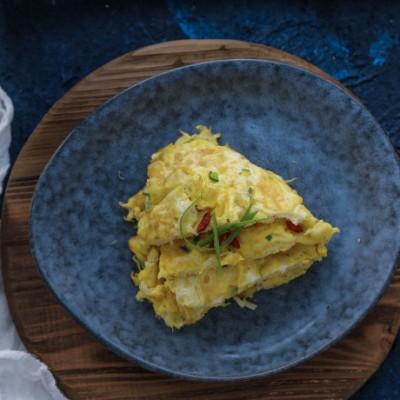 补钙益智白饭鱼煎蛋