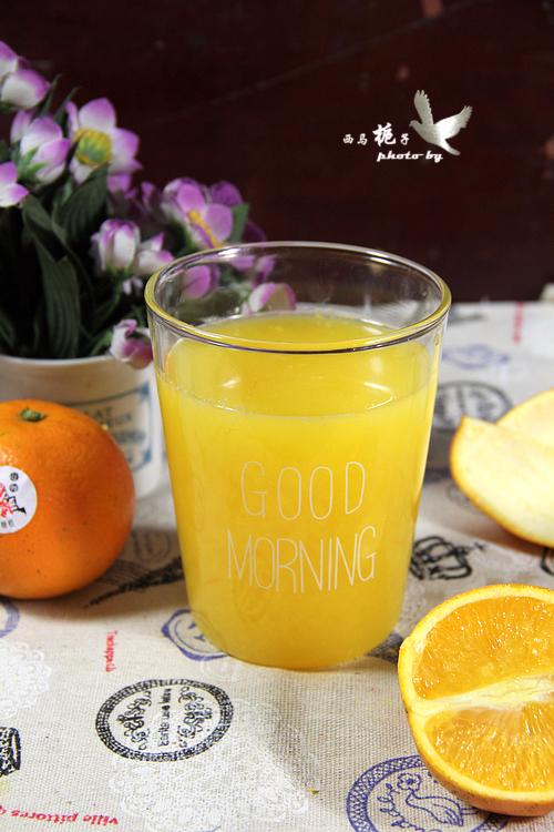 鲜榨菠萝橙汁