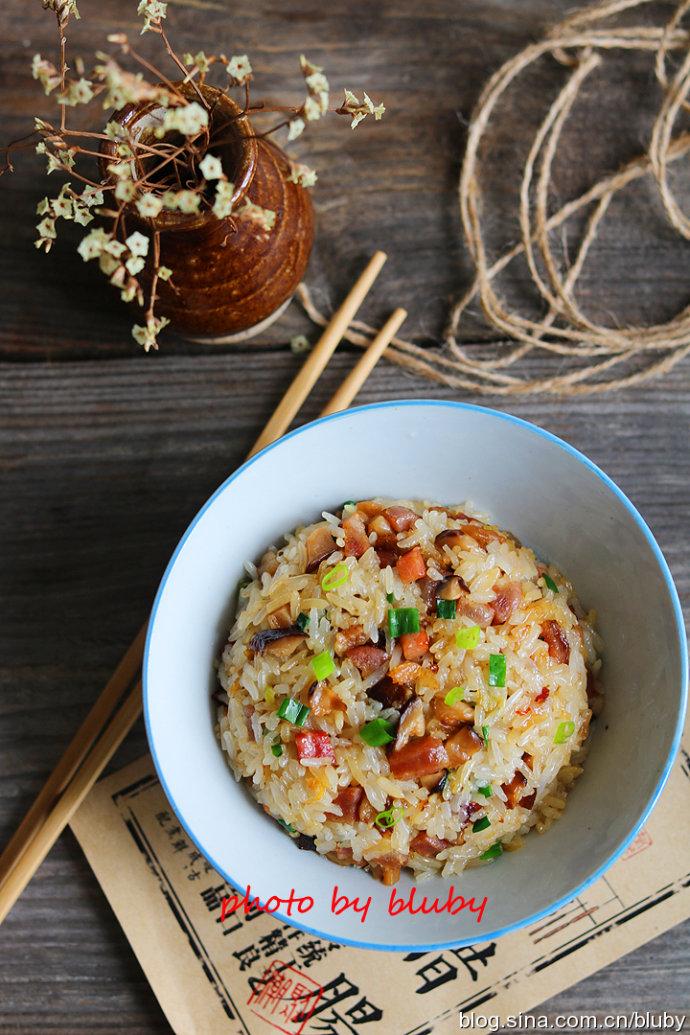 广式生炒糯米饭