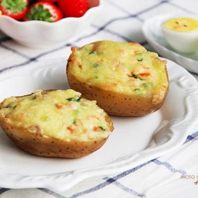 奶酪芝士焗土豆