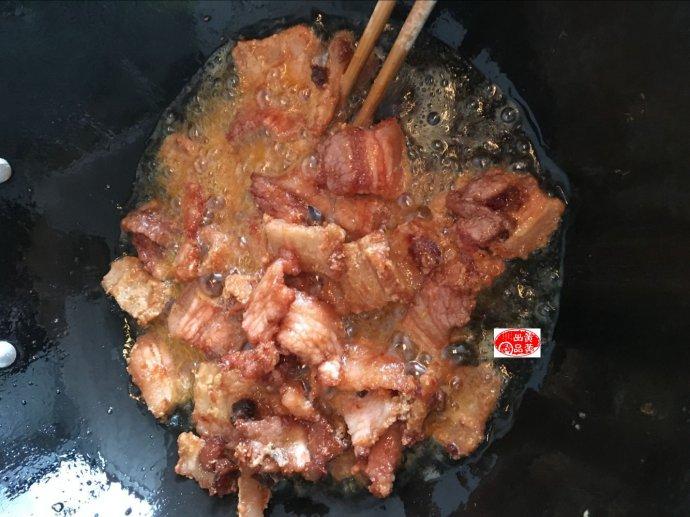 油炸五花肉