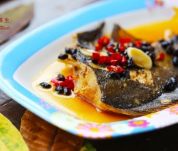 年菜-豉香鲽鱼