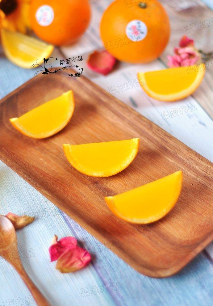 年菜甜點—冰糖橙子凍