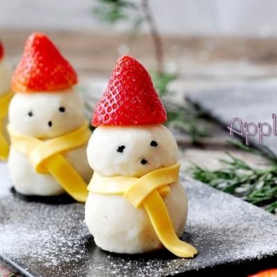 小雪人土豆泥