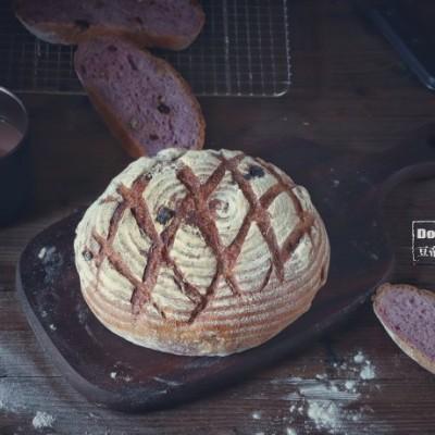 波蘭種紫薯核桃歐包