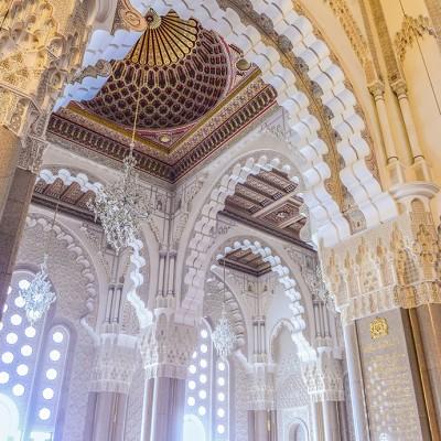 【摩洛哥】全球最奢华的清真寺屋顶竟然还会打开