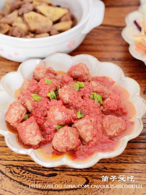 番茄小肉丸