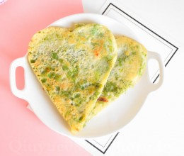 营养早餐-芹菜饼