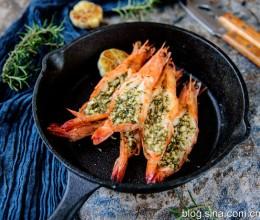 宴客菜—黄油蒜蓉虾