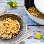 茶笋丝炒肉