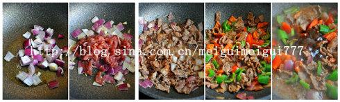 黑椒牛肉饭
