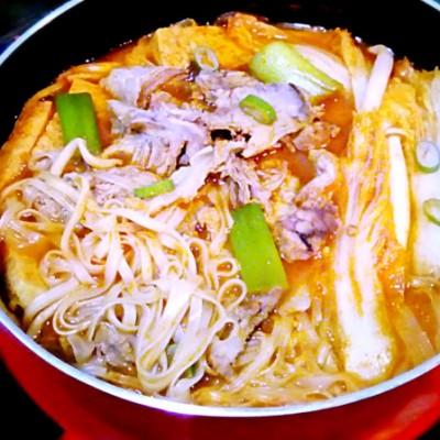 韓式火鍋面