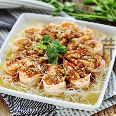 金银蒜蒸大虾