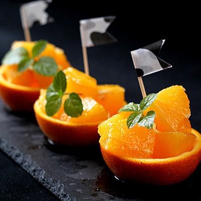 水果拼盤-迷你香橙小果盤