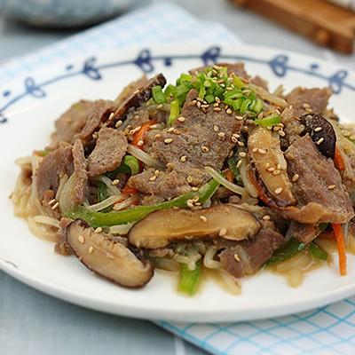 韓式牛肉炒雜蔬
