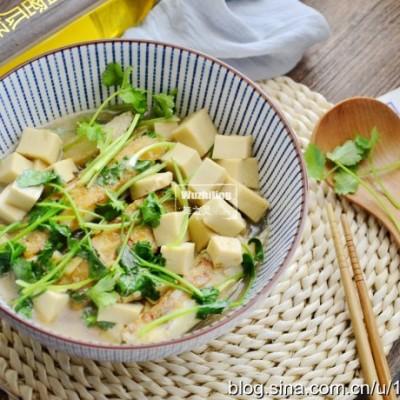 千页豆腐焖鲽鱼-高考生食谱多吃益脑补钙