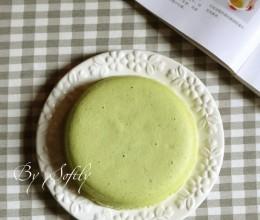 #新春悠享家#嫩嫩的菠菜蒸蛋糕