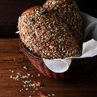 杂粮健康面包