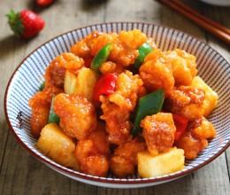 春节菜谱-菠萝咕噜肉