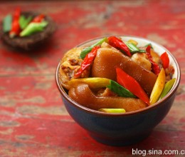 春节菜谱-香辣猪蹄