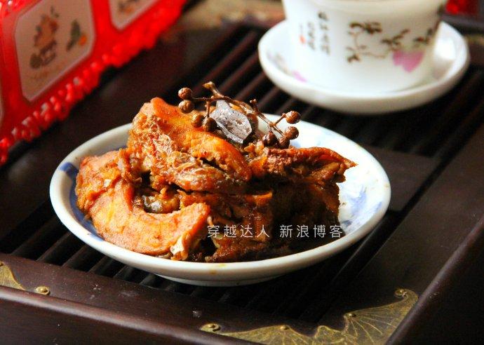 春节菜谱-五香熏鱼
