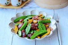 腊肠荷兰豆
